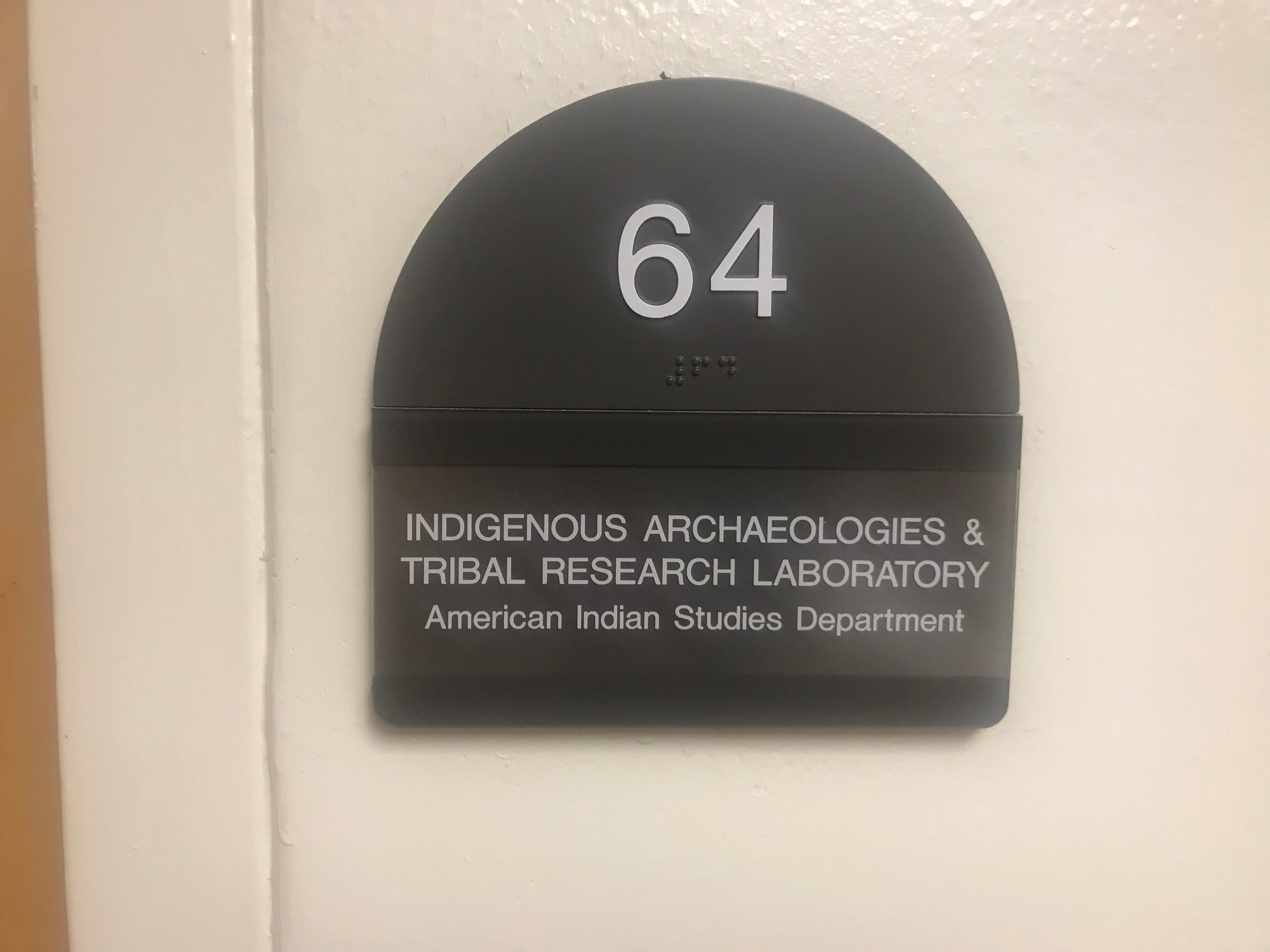 New lab space for American Indian Studies